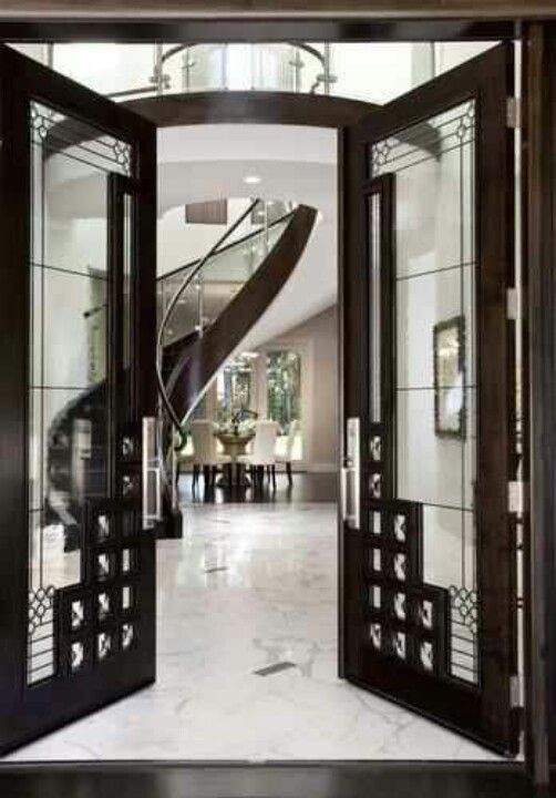 Wonderful A Very Art Deco Style Entryway (via Front Door View To Stair   Contemporary    Entry   San Francisco   By Mark English Architects, AIA) IDEA FOR FRONT  DOOR