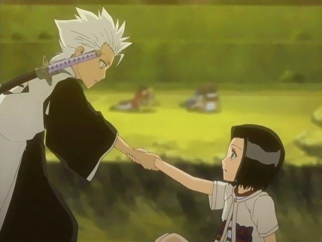 toshiro and karin meet naruto