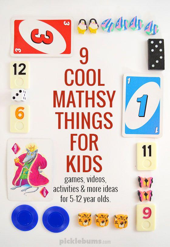 Nine Mathsy Things My Kids Love Math Math For Kids Fun Math