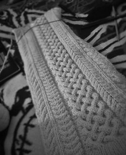 Free Pattern Parting Scarf By June Myers Knitting And Other