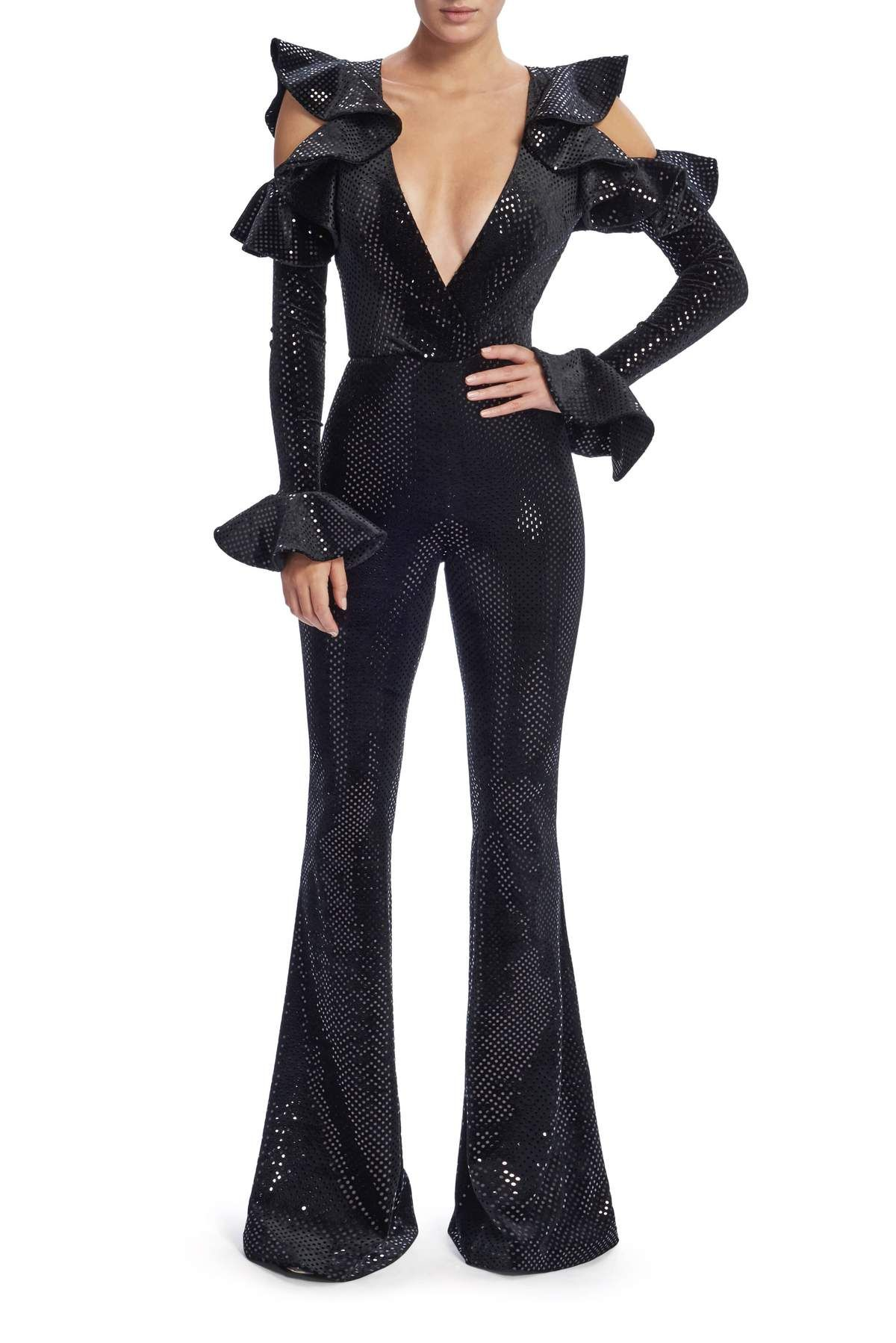 988dc39482e Zhivago Where You Tend A Rose Jumpsuit in Black