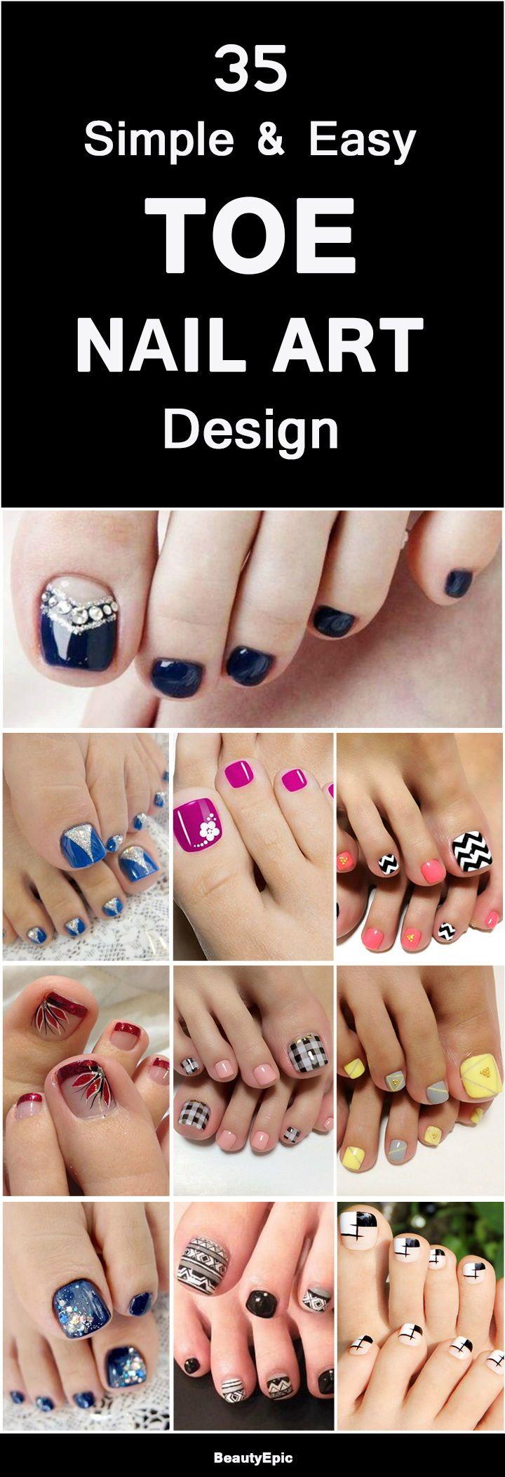 Toe Nail Art Design Simple Toe Nails Nail Designs Toenails Pedicure Designs Toenails
