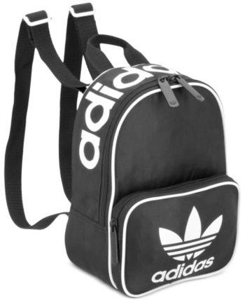 adidas Originals Santiago Mini Backpack Black   Mini