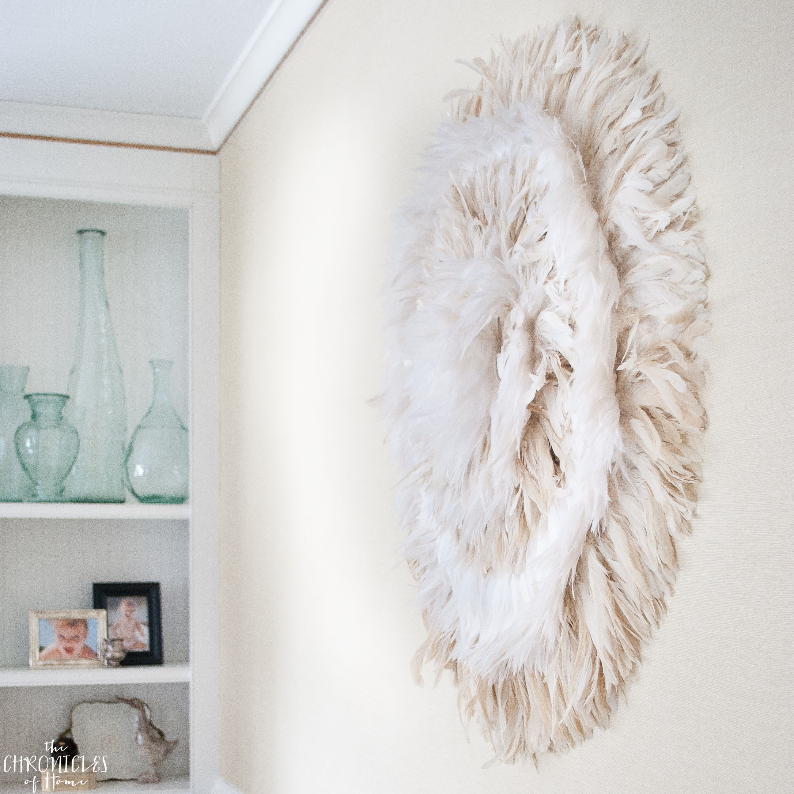 Diy Juju Hat Feather Wall Hanging Home Blogger Decor