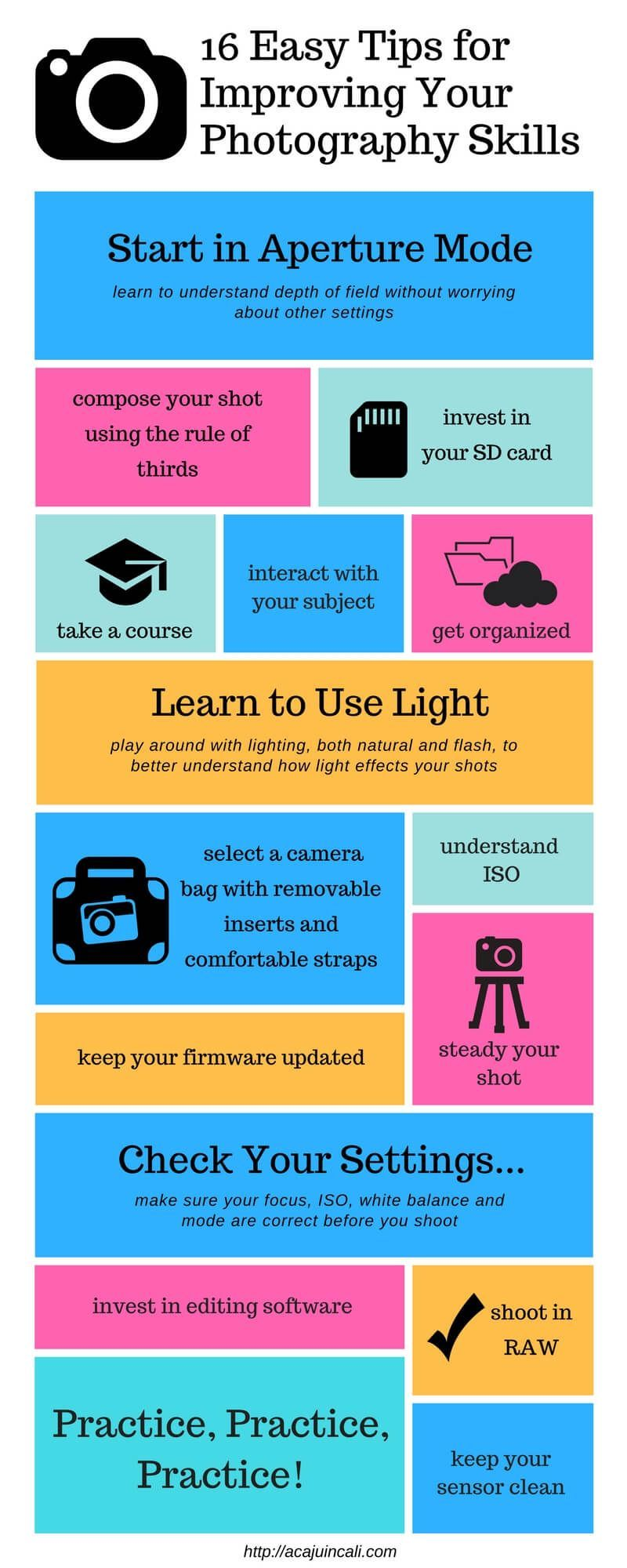Image result for Useful Advice For Bettering Your Photography Skills infographic