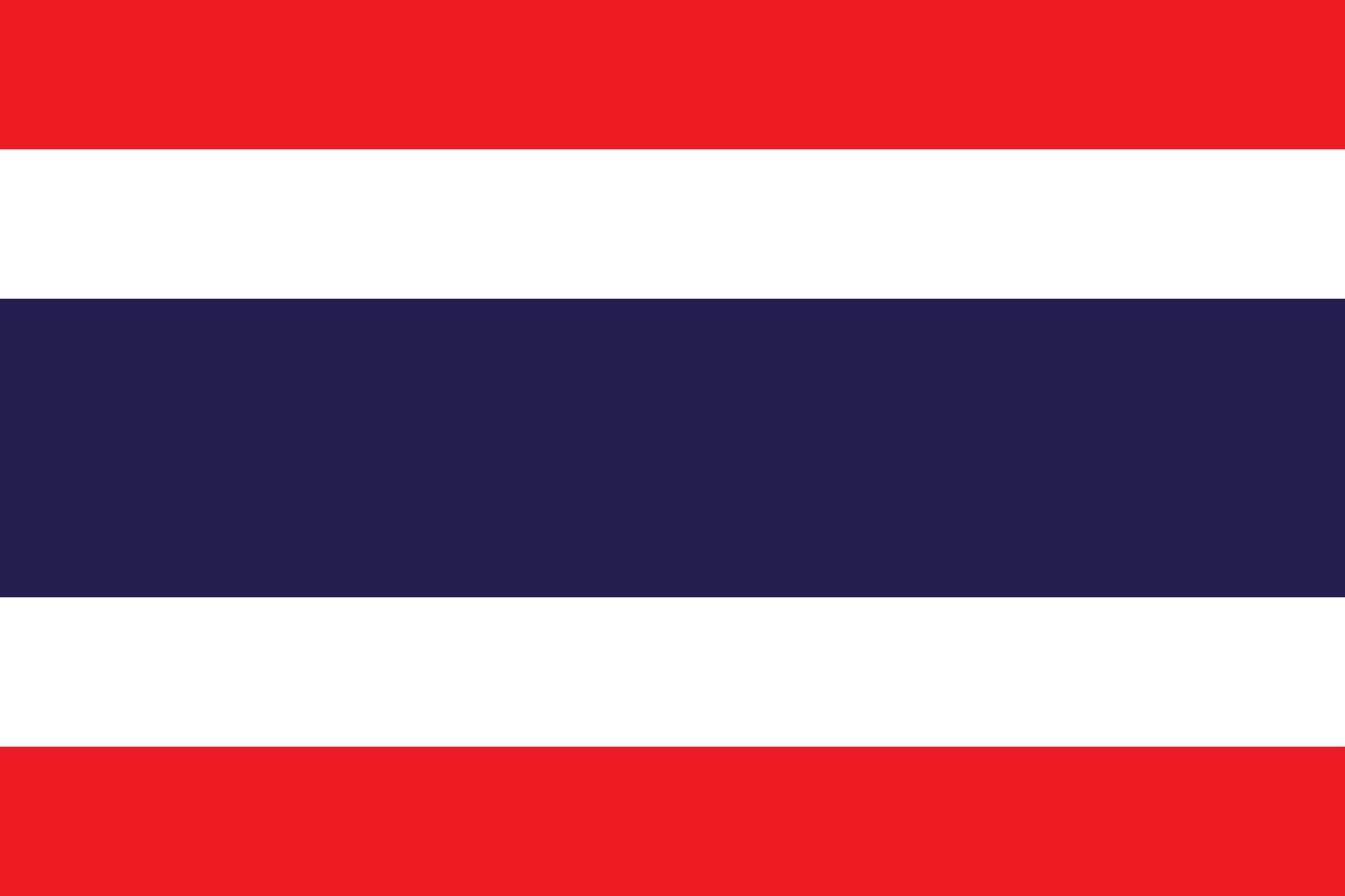 Thailand Flag And Emblem Vector Free Logo Eps Download Thailand Flag Thai Flag Flags Of The World