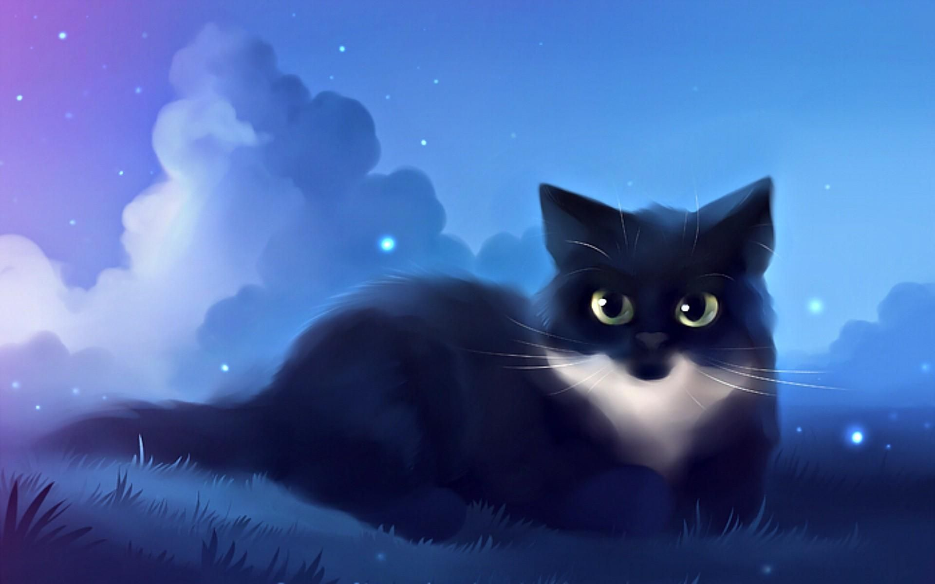 Cute Kitty Cat Anime Wallpapers Wallpaper Cavecute Cat Wallpaper Anime Cute Cat Wallpaper Anime Cute Anim In 2021 Cute Anime Cat Cute Cat Wallpaper Anime Cat