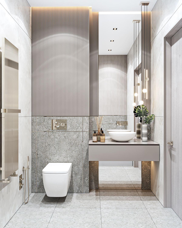 Apartment In Baku A On Behance In 2020 Bathroom Design Decor Modern Luxury Bathroom Classic Bathroom Design New classic bathroom design