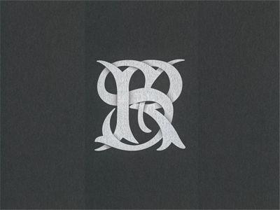 Sr Monogram Monogram Logo Inspiration Branding Monogram Logo