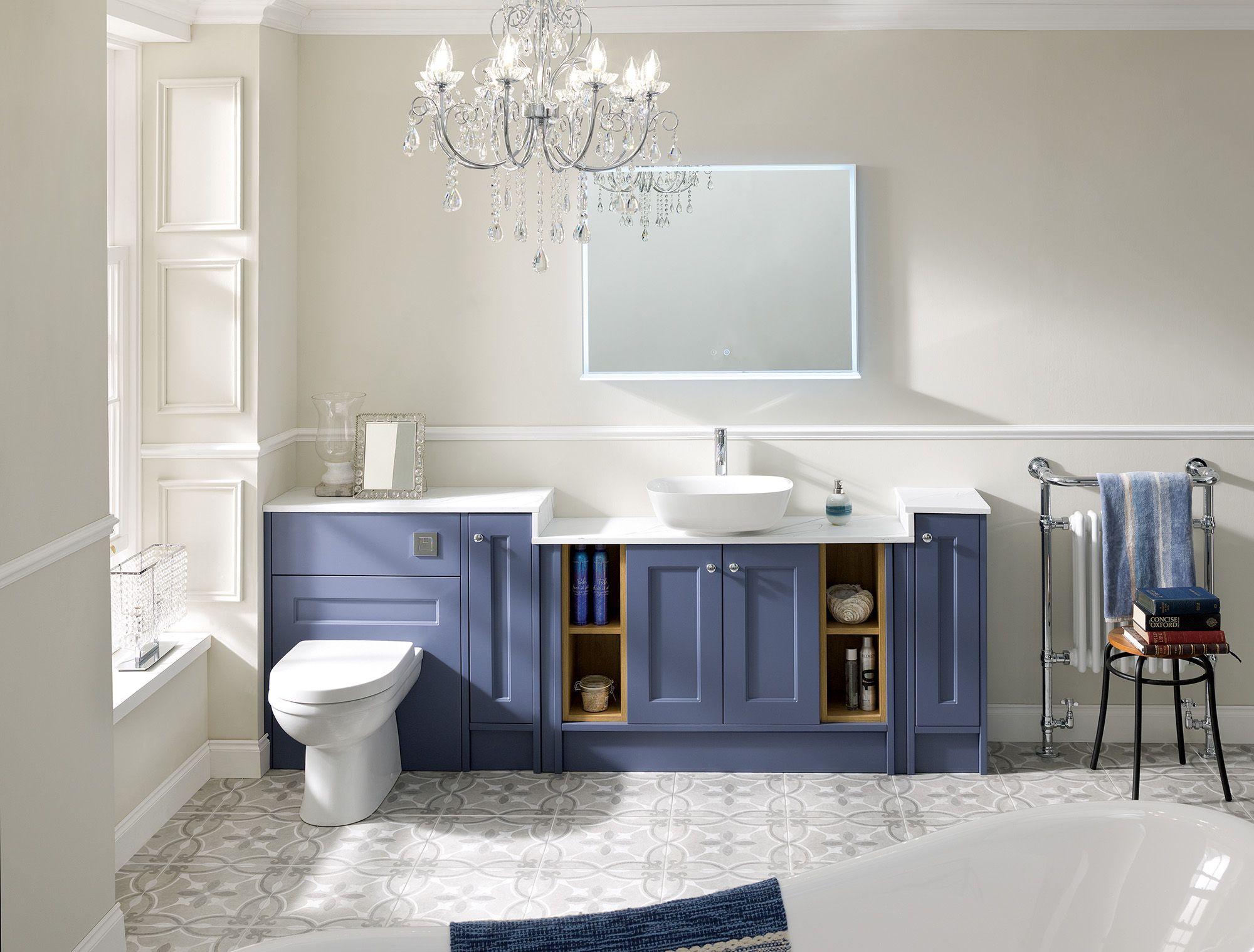 Pentland Lagoon Mist In 2020 Bathroom Furniture Fitted