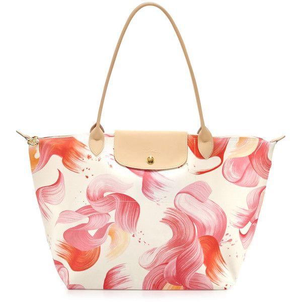 Longchamp Splash Large Shoulder Tote Bag 225 Liked On Polyvore Featuring Bags