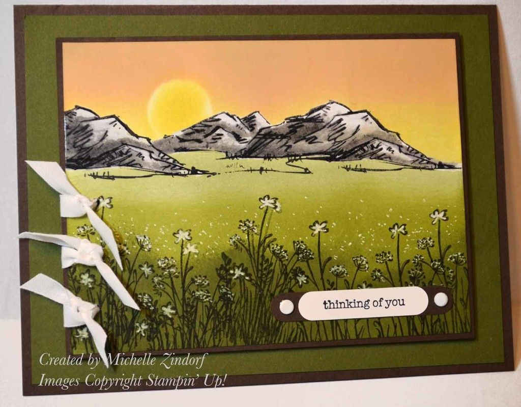 Mountains in the Meadow – Stampin' Up! Card (zindorf.blogs ...