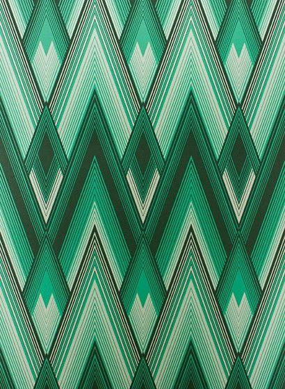 Tapete Astoria von Osborne \ Little - Malachite  Teal 24602 - tapeten design schlafzimmer