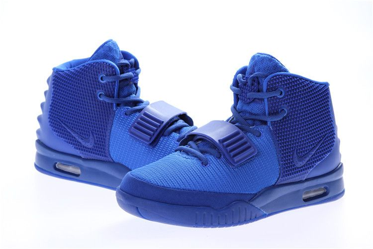 Perfect Nike Air Yeezy 2 Blue December