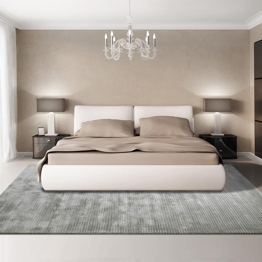Luminous Silver Bedroom Interior Master Bedrooms Decor Modern Bedroom Design