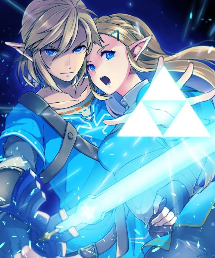 Legend of Zelda Breath of the Wild art > Link and … – #art #Breath #cosplay #L…