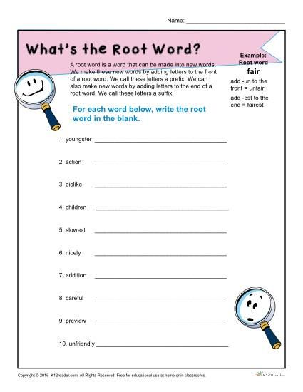 What Is A Root Word