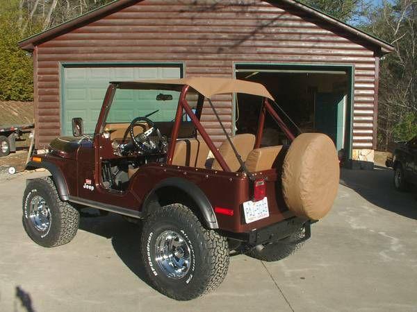 1978 Jeep Cj5 Golden Eagle Jeep Cj5 Jeep Jeep Cj