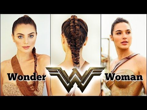 Wonder Woman Movie 2017 Makeup Braid Tutorial Gal Gadot Youtube Wonder Woman Makeup Gal Gadot Hair Styles
