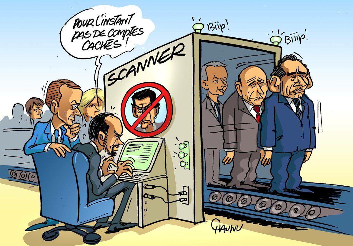 CHAUNU @ChaunuShow (2017-05-17) France:   les vérifications retardent la composition du  gouvernement Emmanuel Macron,  Édouard Philippe  ÷÷÷ Dessin du jour dans @OuestFrance :