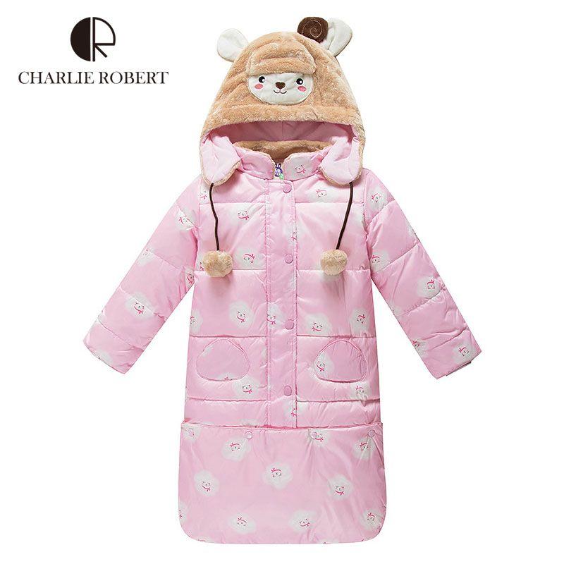 aca1b341e Winter Baby Sleeping Bags Baby Clothing Hooded Children Duck Down ...