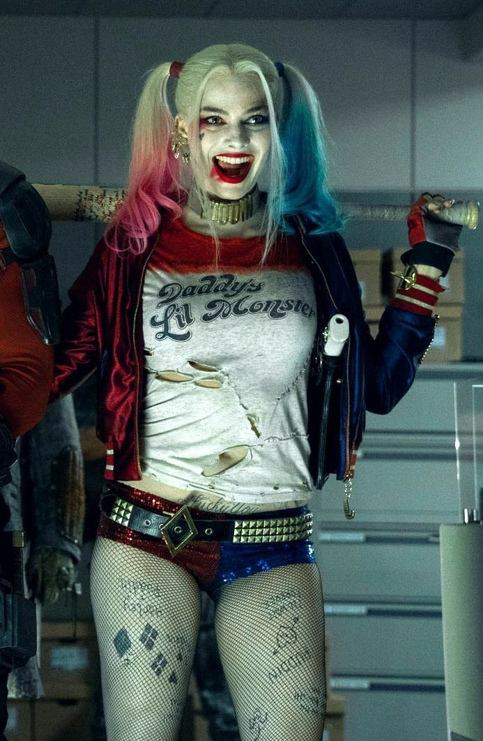 c4f3df5be51a Margot Robbie as Harley Quinn