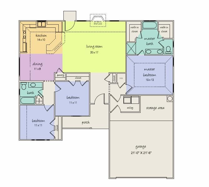 First Choice Of Floor Plans If I Ever Get To Build A Home