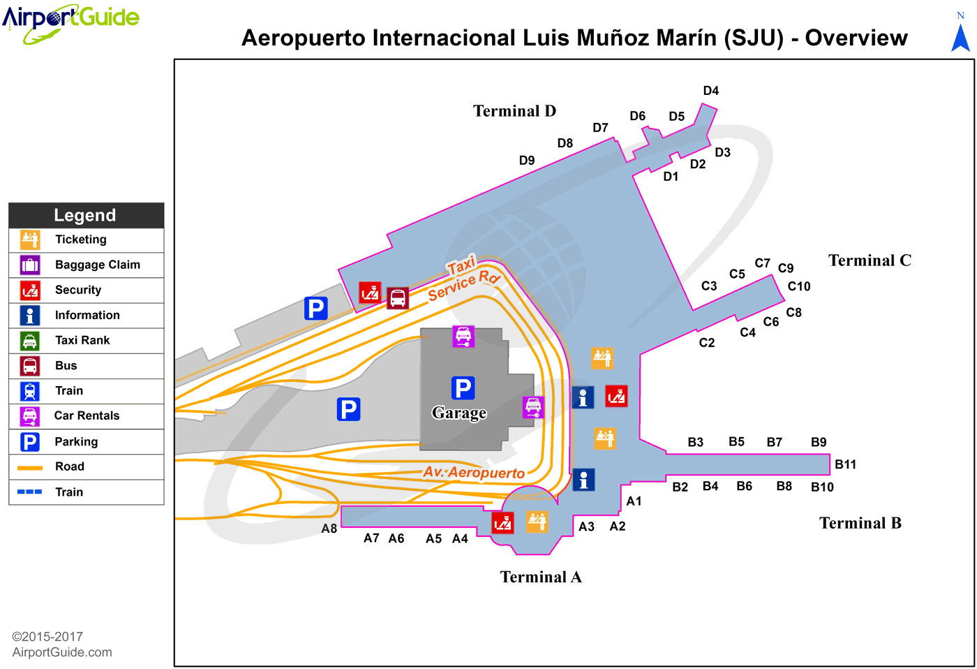 San Juan Luis Munoz Marin International (SJU) Airport
