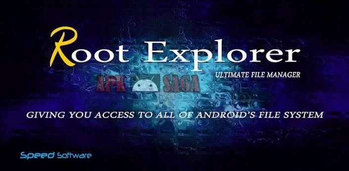 Download Root Explorer (File Manager): Features include SQLite