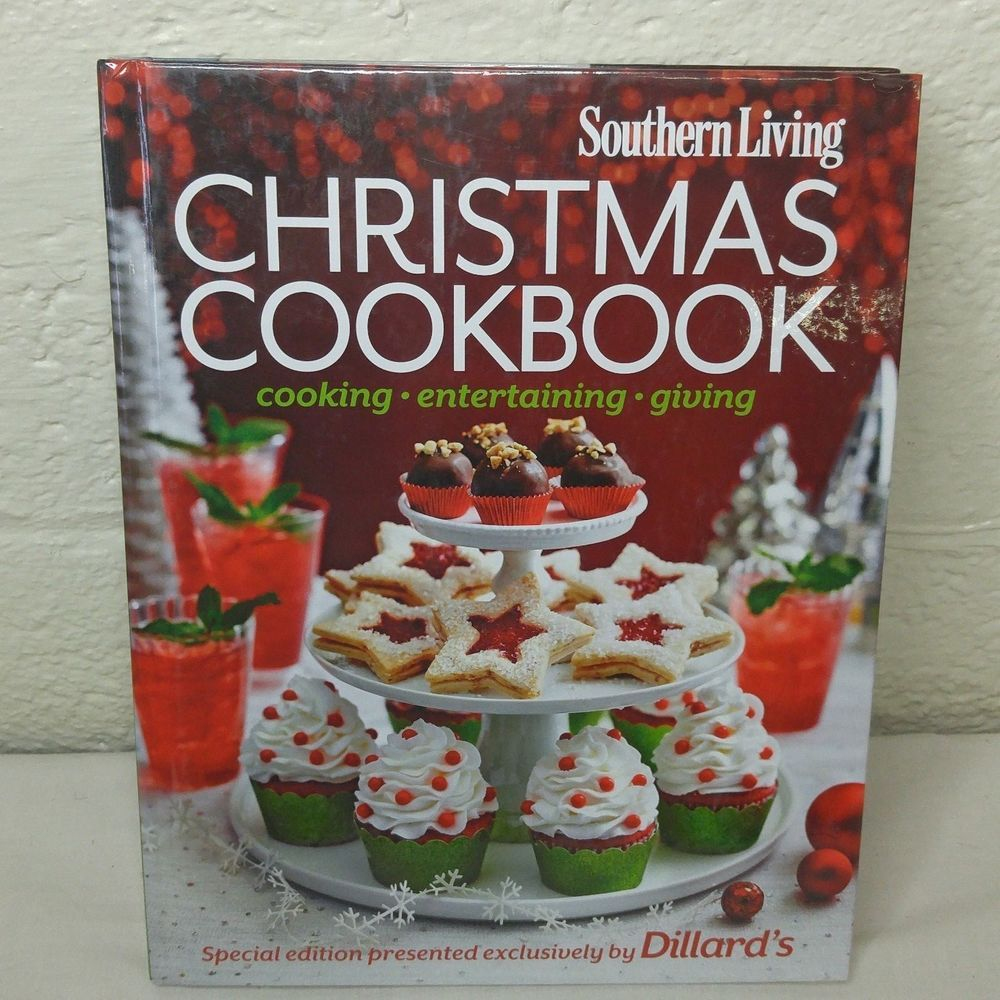 Southern Living Double Edition Cookbook Christmas and Year