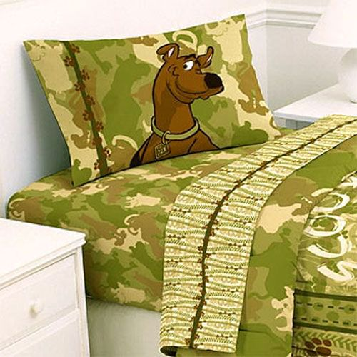 twin size bedding for little boys | Scooby-Doo Bed Sheets Set ...