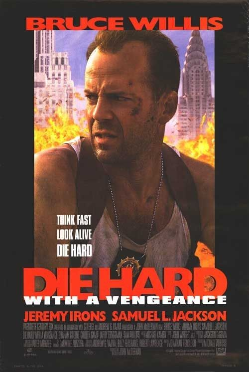 Die Hard With a Vengeance | Movie posters | Movies, Movie