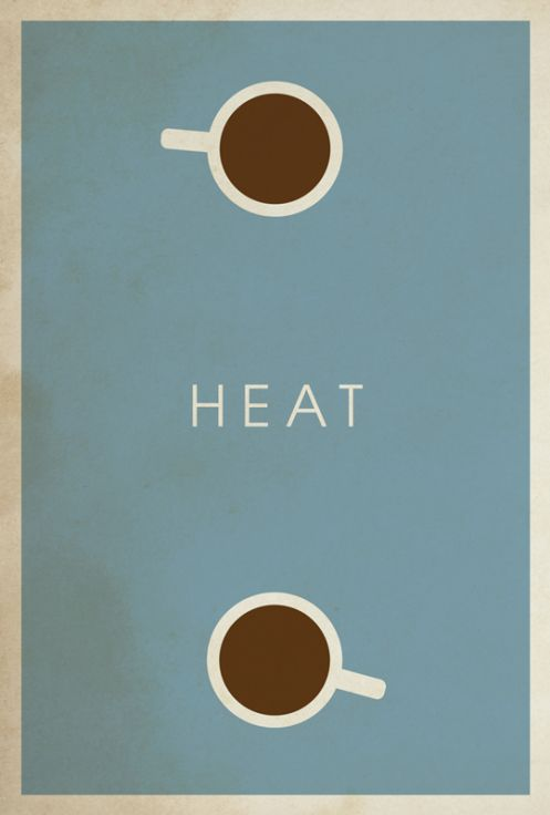 heat - movie poster // matt owen...