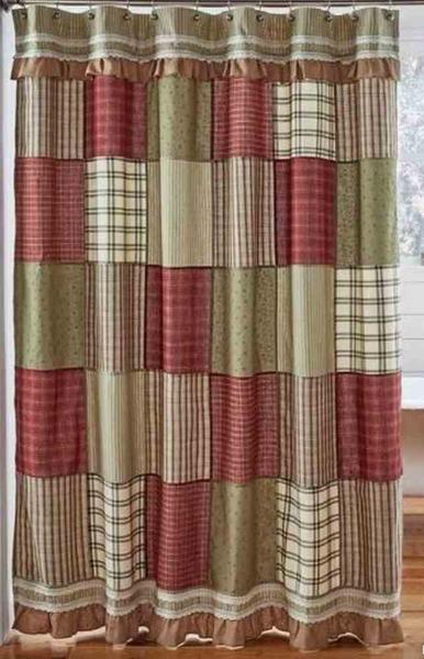 Prairie Winds Shower Curtain 72x72 Primitive Bathrooms
