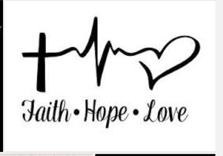 Download Pin by Patricia Voldberg on Signs | Tattoos, Faith hope ...