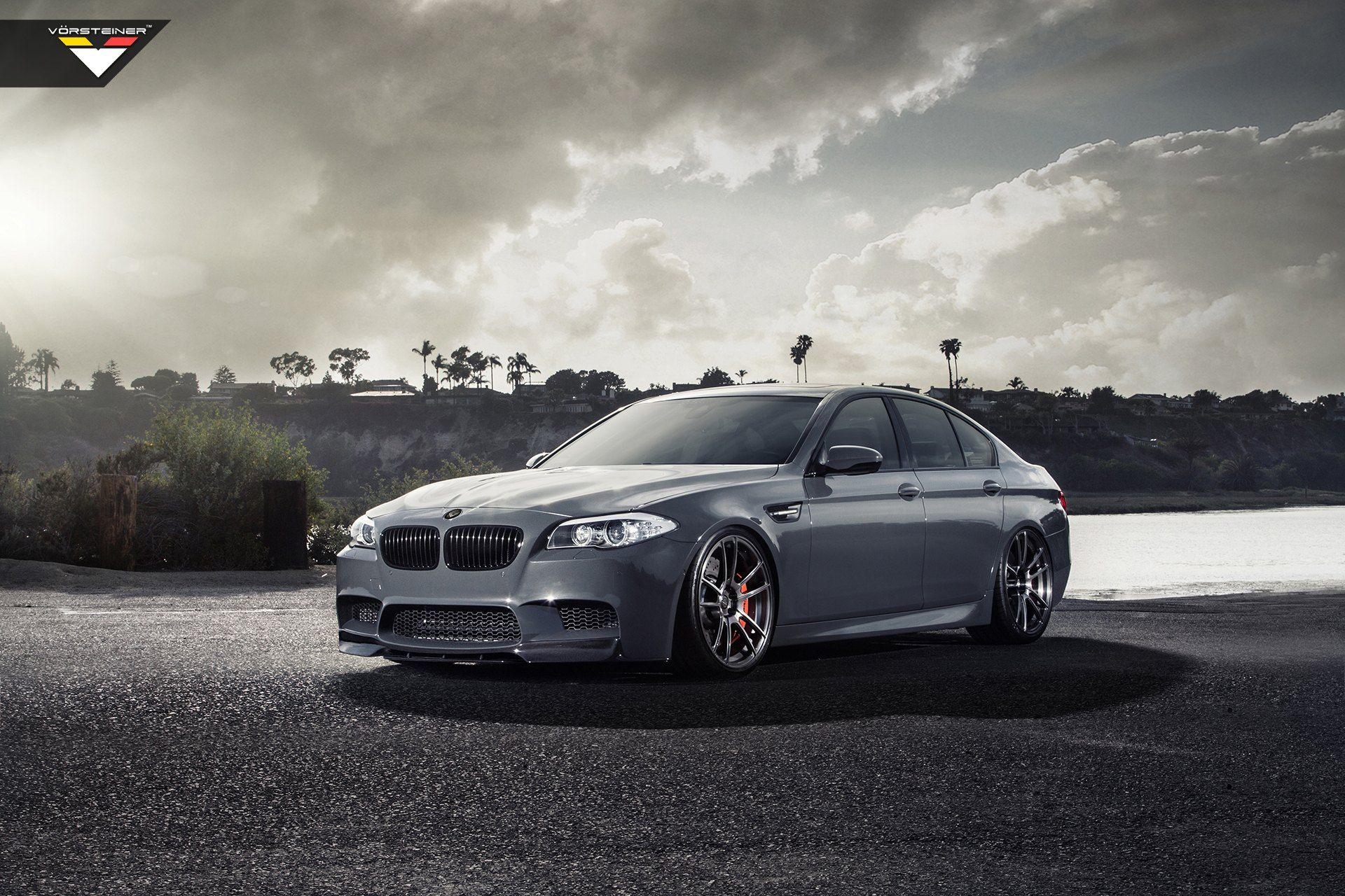 Vorsteiner Reimagines Stylish Gray BMW 5 Series Bmw M5 F10 Wallpaper Free Download