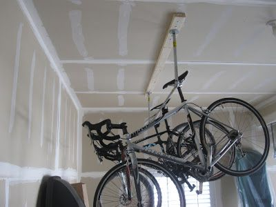 Ceiling Bicycle Storage For More Great Pics Follow Www