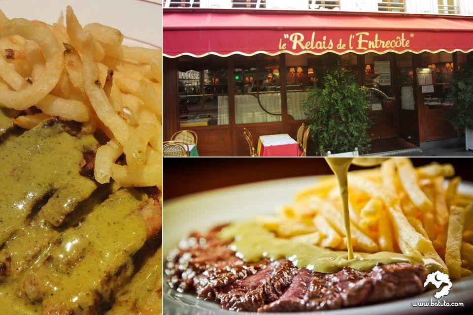 مطعم لو ريليه دو لانتريكوت هل تعلم عن سر صلصة ستيك الانتريكوت والبطاطا المقلية هذا هو الطبق الوحيد الذي يقدم في هذا المطعم الفرنسي الشهير من تذوقه يعلم