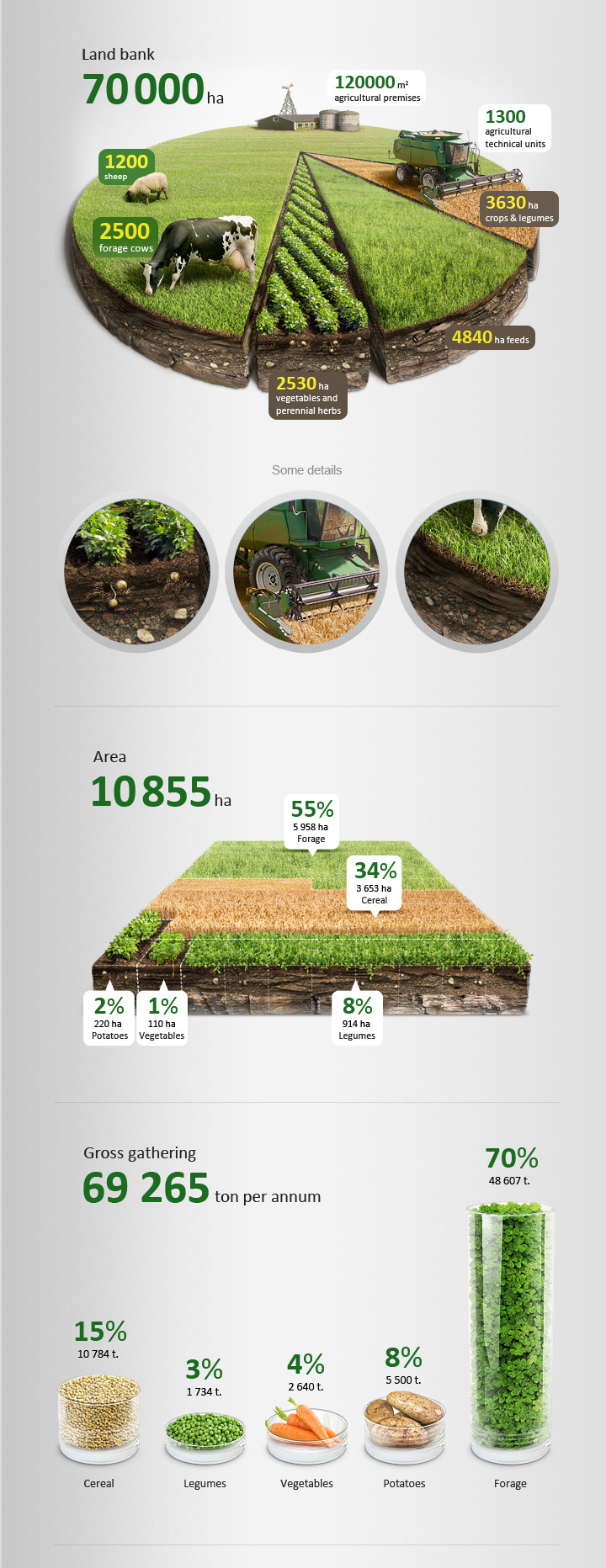 Agricultural infographics + Tutorial by Anton Egorov https://www.behance.net/gallery/Agricultural-infographics-Tutorial/6659287