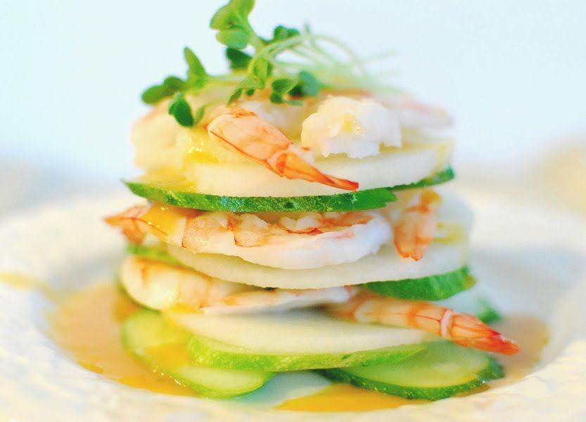 Korean Shrimp Salad Recipe