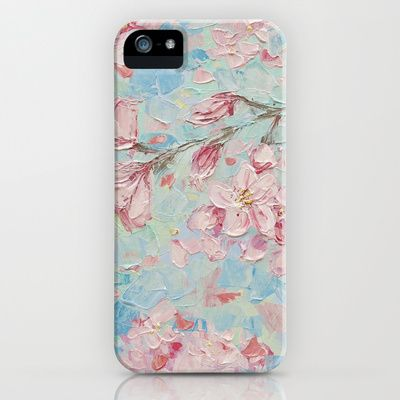 Yoshino Cherry Blossoms No. 2 iPhone & iPod Case by Ann Marie Coolick - $35.00 www.annmariecoolick.com
