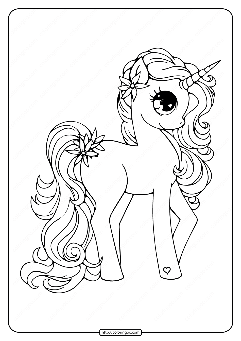 Printable Free Unicorn Pdf Coloring Book Unicorn Coloring Pages Witch Coloring Pages Coloring Pages
