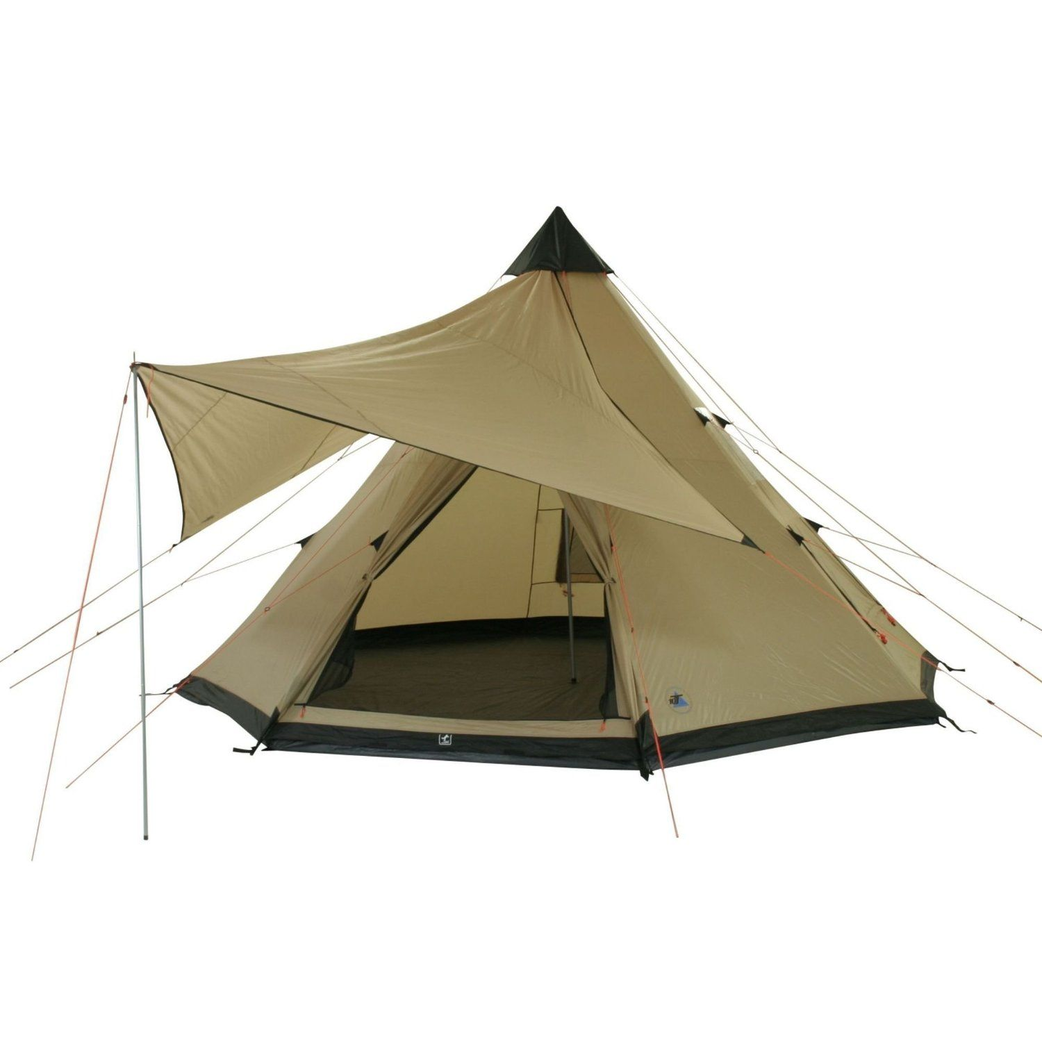 10T 8 person Tent SHOSHONE 400 HHu003d5000mm stiched groundsheet + shade sail Amazon  sc 1 st  Pinterest & 10T 8 person Tent SHOSHONE 400 HHu003d5000mm stiched groundsheet + ...
