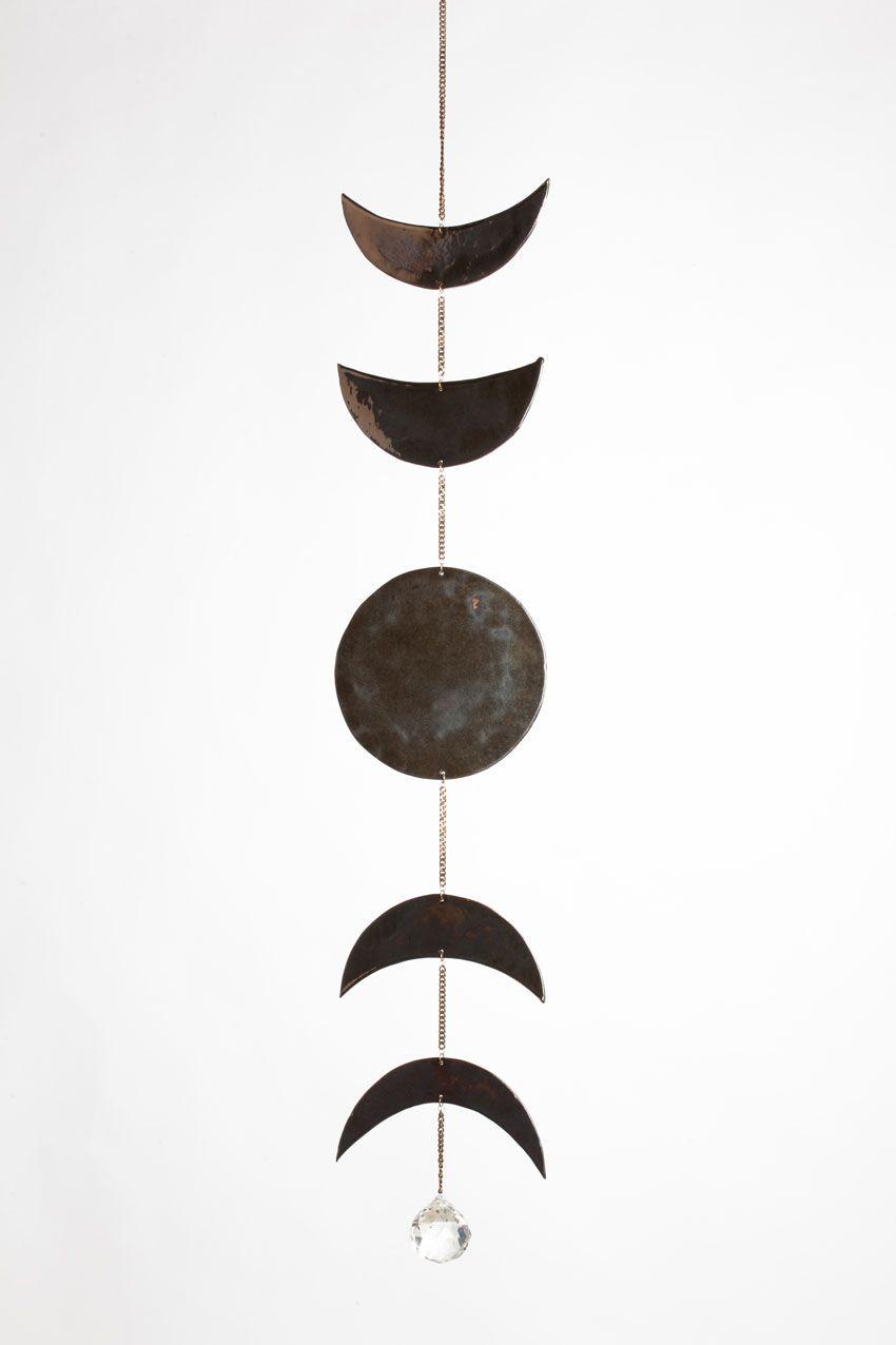 Kelly Lamb Ceramic With Glossy Glaze Bronze Chain