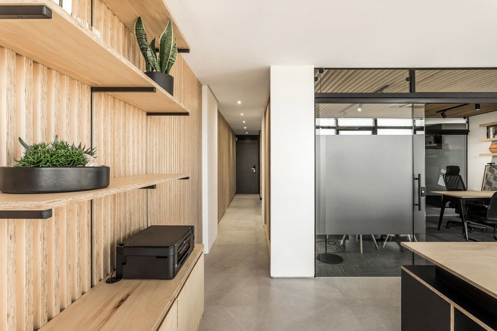 Solo Arquitetos A Brazilian Office Space With Light Wood Details