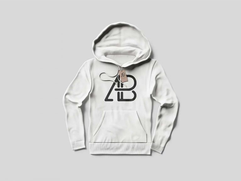 Download Free Hoodie With Tag Mockup Psd Hoodie Mockup Hoodies Clothing Mockup