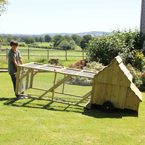 Dorset Ranger Ten Chicken Coop with 6ft Run from Flyte So Fancy Ltd
