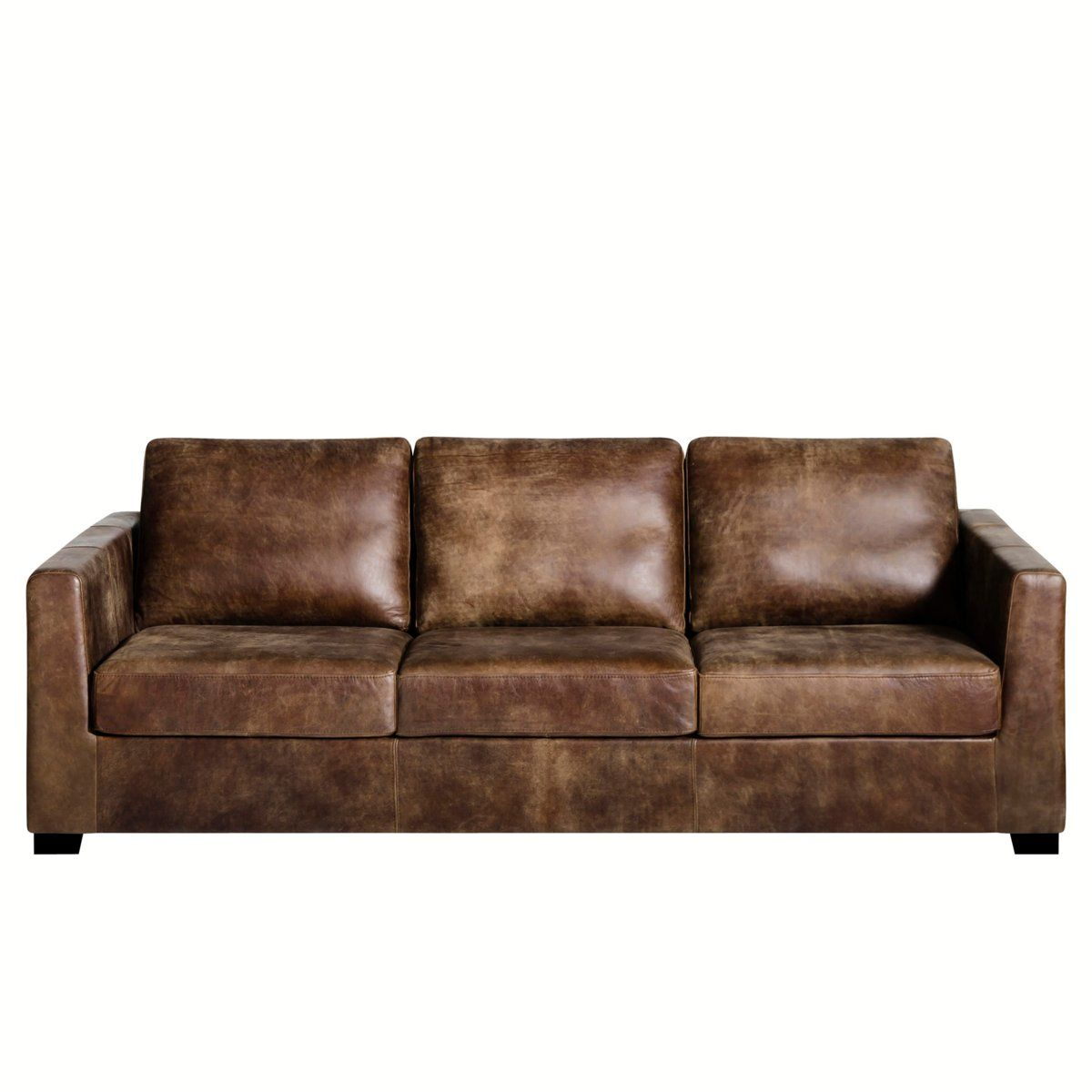 Canapé cuir fixe ou convertible Missu AM PM