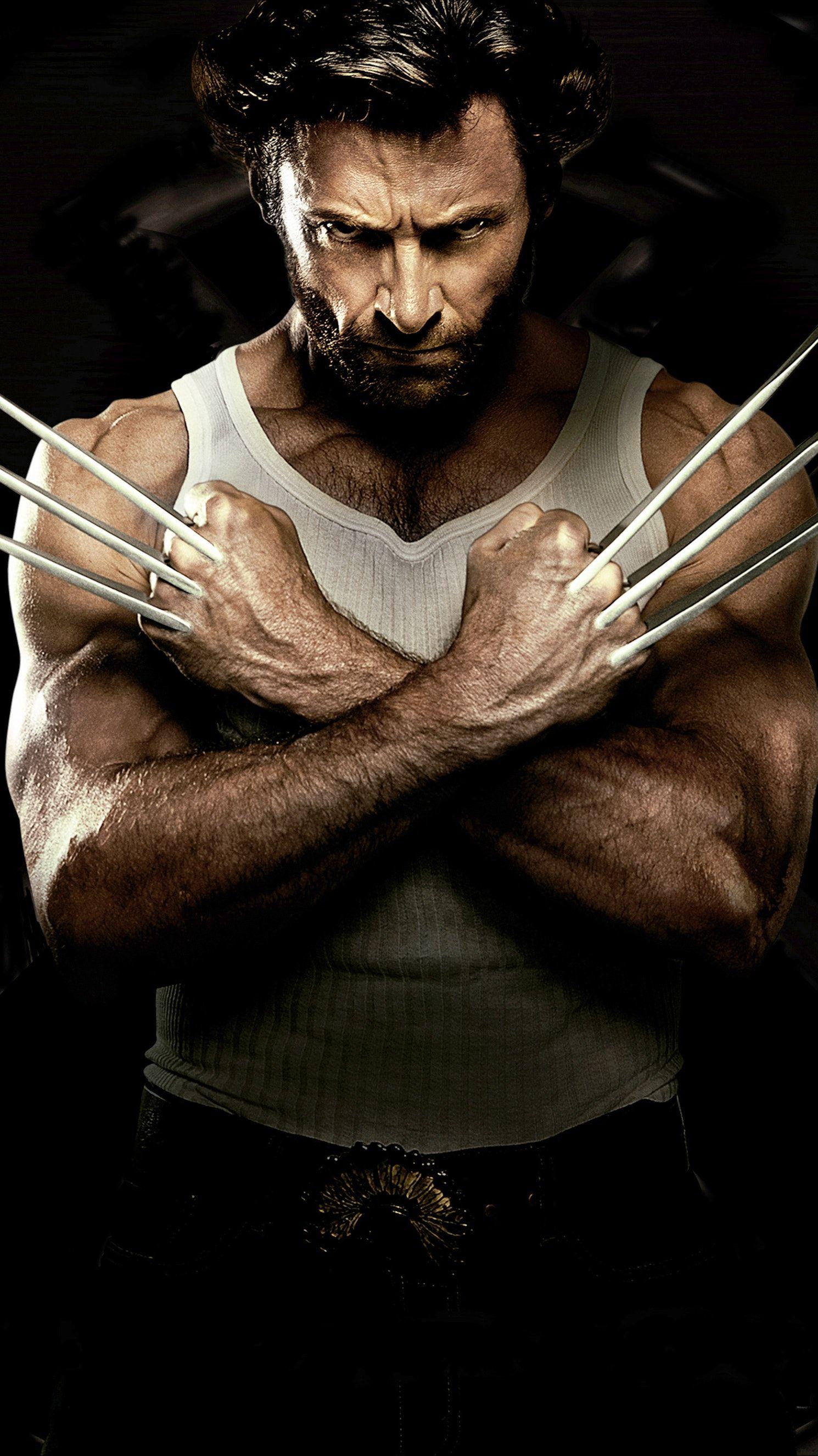 X Men Origins Wolverine 2009 Phone Wallpaper Moviemania Phone Wallpaper For Men Android Wallpaper Wolverine