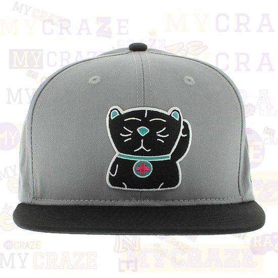 "Pink Dolphin Lucky Cat ""Maneki-Neko"" Strapback Cap Hat Street Skater – MyCraze PinkDolphin #Skatewear #Streetwear #BaseballCap"